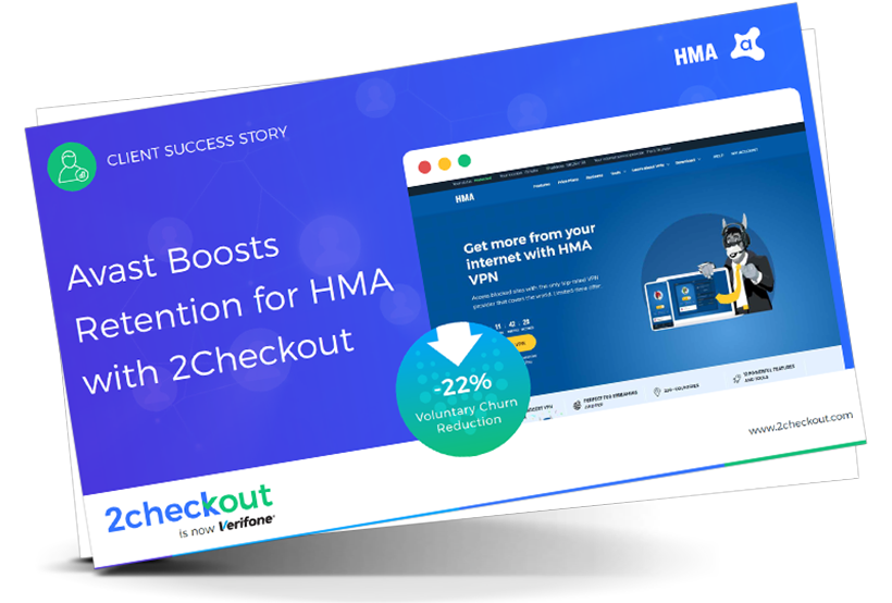 Avast Boosts Retention for HMA with 2Checkout