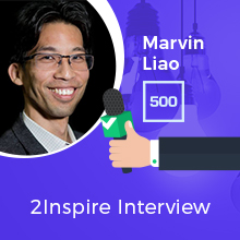 2Inspire Series – Interview with Marvin Liao, Partner at 500 Startups