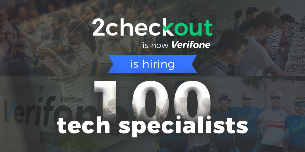 2Checkout seeking 100 new specialists for Bucharest innovation hub